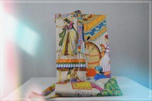 Sac tapis yoga coton danse hindou coloré