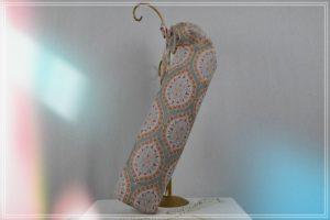 Sac tapis yoga coton imprimé mosaïque